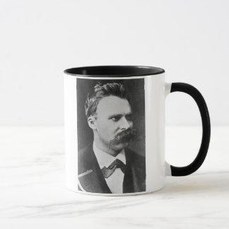 Friedrich Wilhelm Nietzsche (1844-1900) 1873 (b/w Tasses