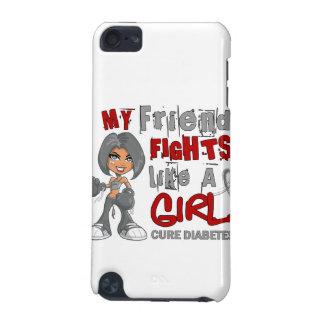 Friend Fights Like Girl 42.9 Diabetes iPod Touch 5G Case