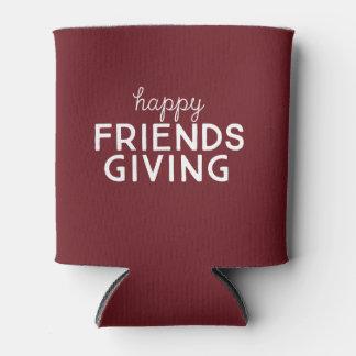 Friendsgiving heureux peut glacière