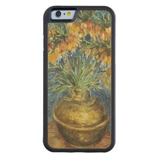 Fritillaires impériales de couronne de Vincent van Coque iPhone 6 Bumper En Érable
