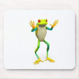 frog1 tapis de souris