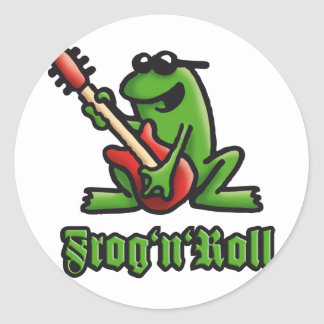 frog n petit pain A Sticker Rond