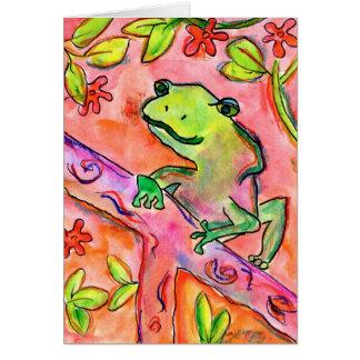 Froggy par le marcheur de Brett, âge 14 Cartes De Vœux