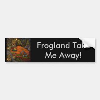 Frogland 2 autocollant de voiture