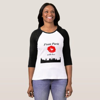 From Paris with Love tshirt