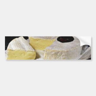 Fromage de camembert autocollant pour voiture