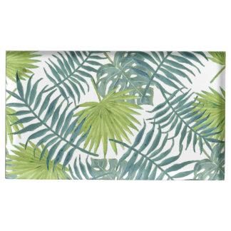 Frondes de palmier peignant l'illustration de porte-photos