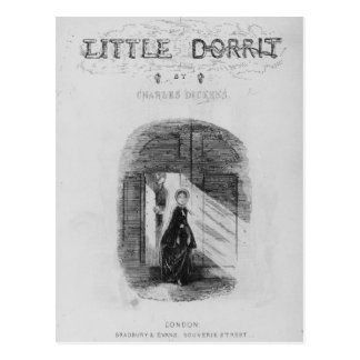 "Frontispice ""peu de Dorrit"" par Charles Carte Postale"