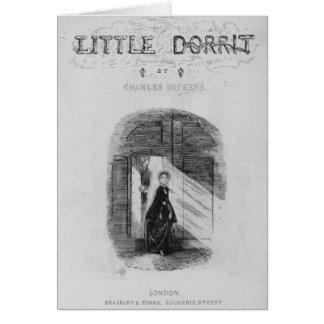 """Frontispice """"peu de Dorrit"""" par Charles Cartes"""