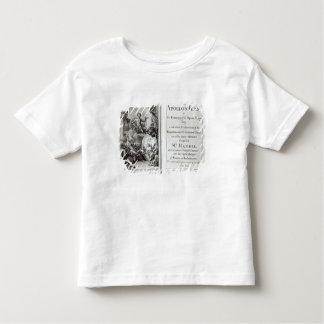 Frontispice pour le festin d'Apollo, c.1734 T-shirt Pour Les Tous Petits