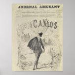 Frontpage de 'Le Journal Amusant' Poster