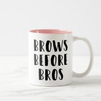 Fronts avant tasse de maquillage de Bros