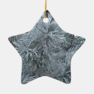 Frost Ornement Étoile En Céramique