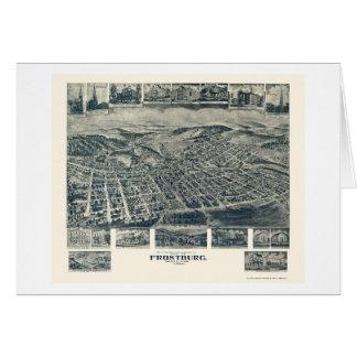 Frostburg, carte panoramique de DM - 1905