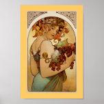 Fruit - automne c1897 posters