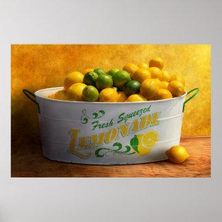 Fruit - citrons - quand la vie vous donne des poster