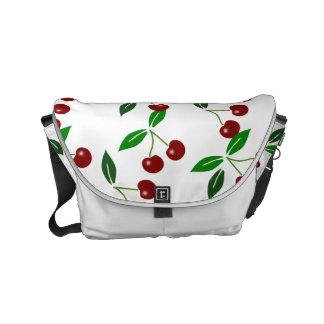 Fruit de cerise et sac messenger classiques 1 à sacoche