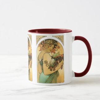 Fruit de ~ d'Alphonse Mucha. 1897 Mug