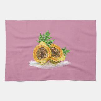 Fruit de hippie serviette éponge