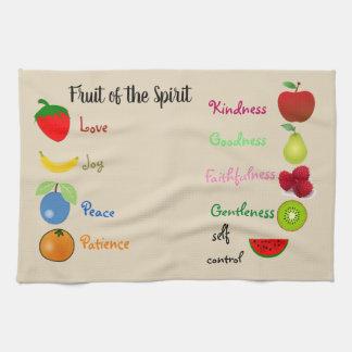 Fruit de la serviette de cuisine d'esprit