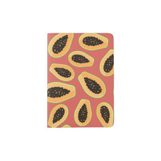 Fruit de papaye protège-passeport