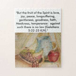 Fruit du puzzle d'esprit