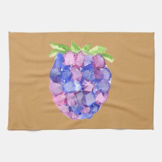 Fruit géométrique serviette éponge