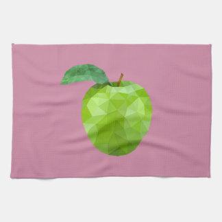 Fruit géométrique serviette pour les mains