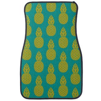 Fruit tropical d'ananas tapis de sol