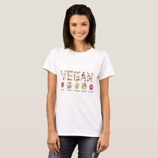 Fruit végétalien et collage d'Emoji de légumes T-shirt
