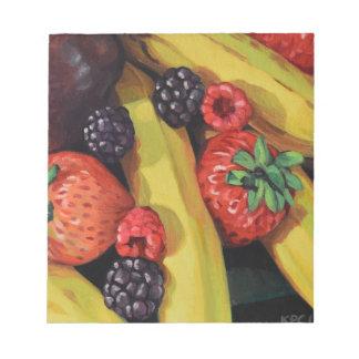 Fruits abondants bloc-note
