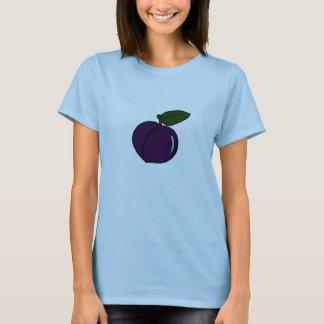Fruits de prune du T-shirt d'esprit