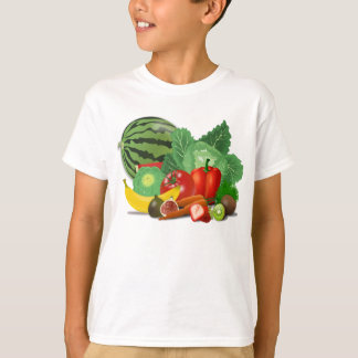 Fruits et légumes t-shirt