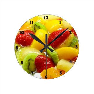 Fruits Horloge Ronde
