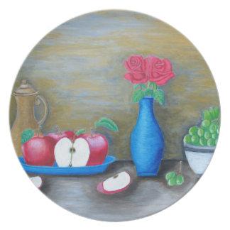 fruits toujours de la vie assiette