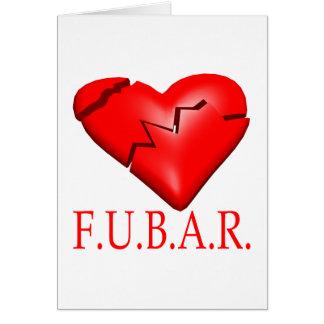FUBAR CARTE DE VŒUX