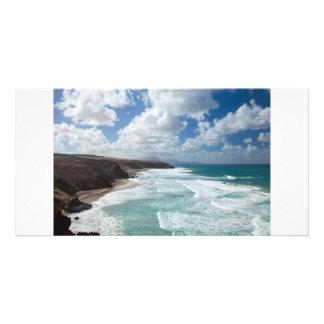 Fuerteventura La a épluché la carte postale Carte Avec Photo