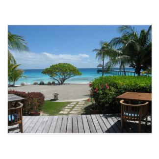 Fuite du Tahiti Carte Postale