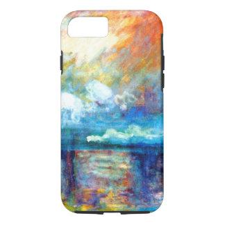 Fumée de Monet dans le brouillard Coque iPhone 7