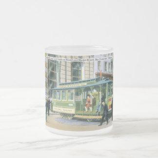Funiculaire vintage de SF Mug