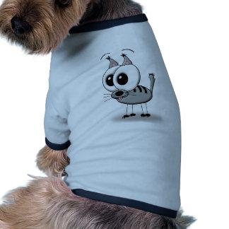 funny cat tee-shirt pour toutou