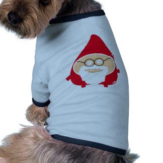 Funny Cute Santa Claus T-shirt Pour Animal Domestique
