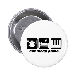 Funny eat sleep piano pins