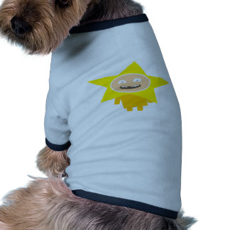 FUNNY XMAS STAR T-SHIRT POUR CHIEN