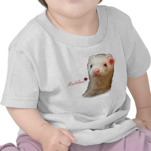 Furet de fleur t-shirt