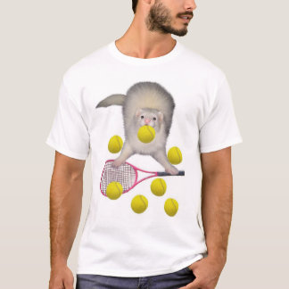 Furet de tennis t-shirt