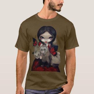 Furet féerique gothique de papillon de chemise t-shirt