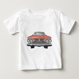 Fureur 1961 de Plymouth T-shirt Pour Bébé