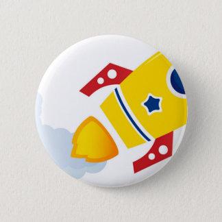 Fusée d'or de vol : Édition créative Badge