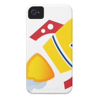 Fusée d'or de vol : Édition créative Coques iPhone 4